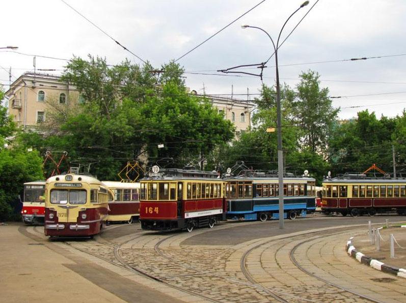 Фестиваль «День московского транспорта»