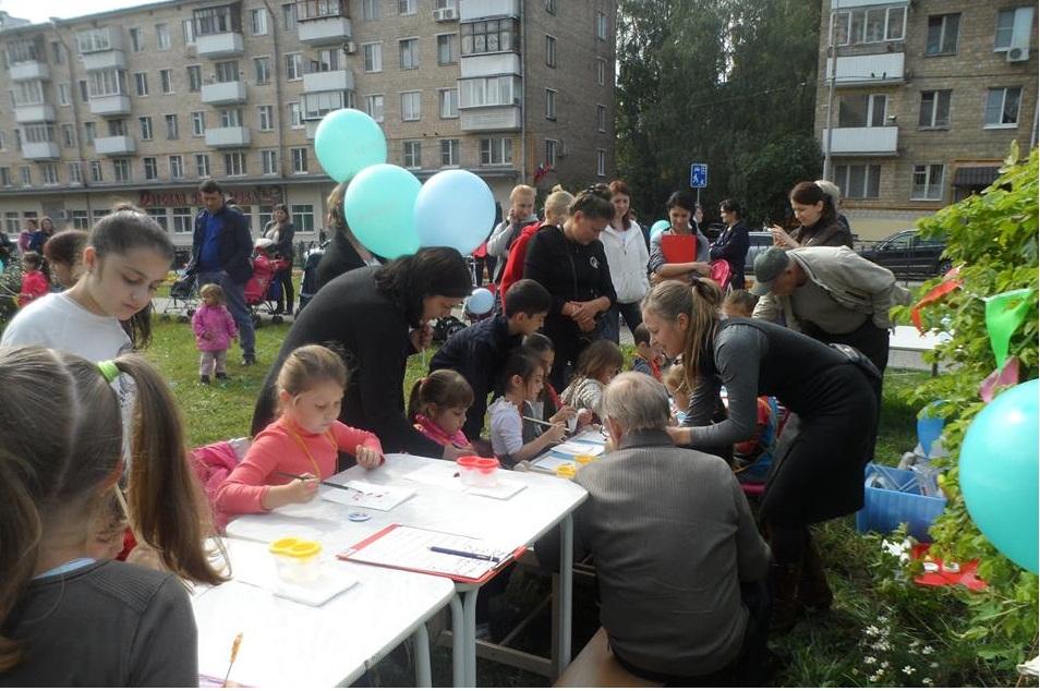 Фестиваль «Московский мой дворик»