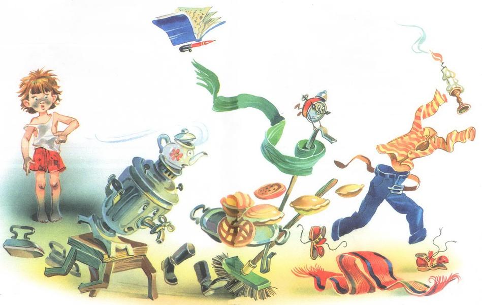 Выставка «Иллюстрации по мотивам произведений Корнея Ивановича Чуковского»