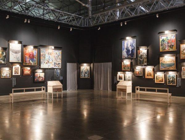 Выставка «Мир без насилия»