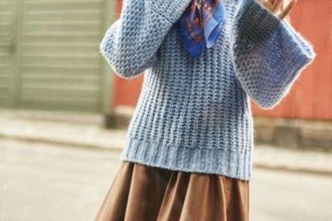 Мастер-класс «Счем носить блузки идругие вещи срасклешенными рукавами?»
