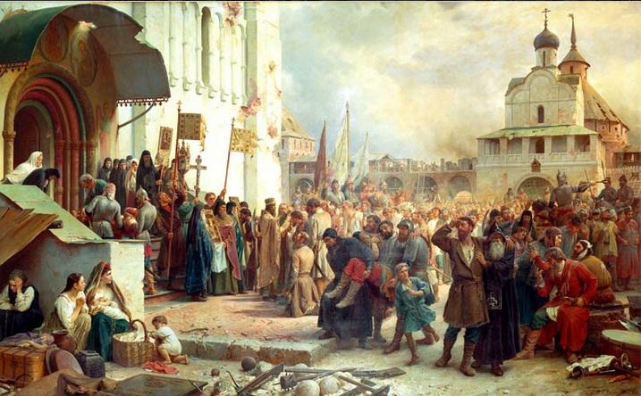 Выставка «Смутное время в работах советских историков»
