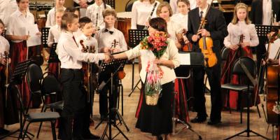 Отчетный концерт школы искусств «Кусково»