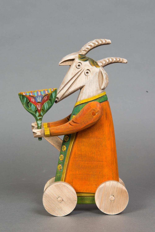Выставка «Идет коза рогатая»