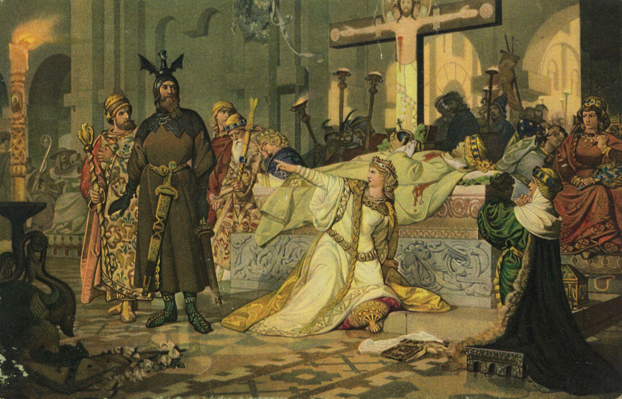 Лекция «Кровавая драма средневековья в разных декорациях: «Старшая Эдда» и «Песнь о нибелунгах»