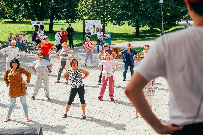 День здоровья в парке «Усадьба Воронцово»