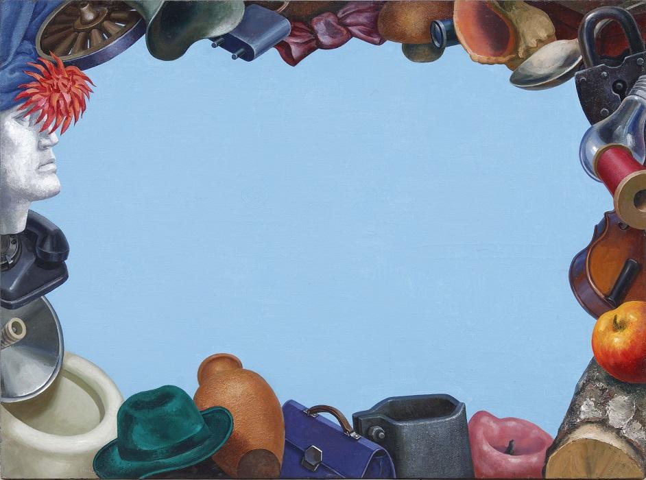Выставка Андрея Гросицкого Порядок вещей в галерее Artstory