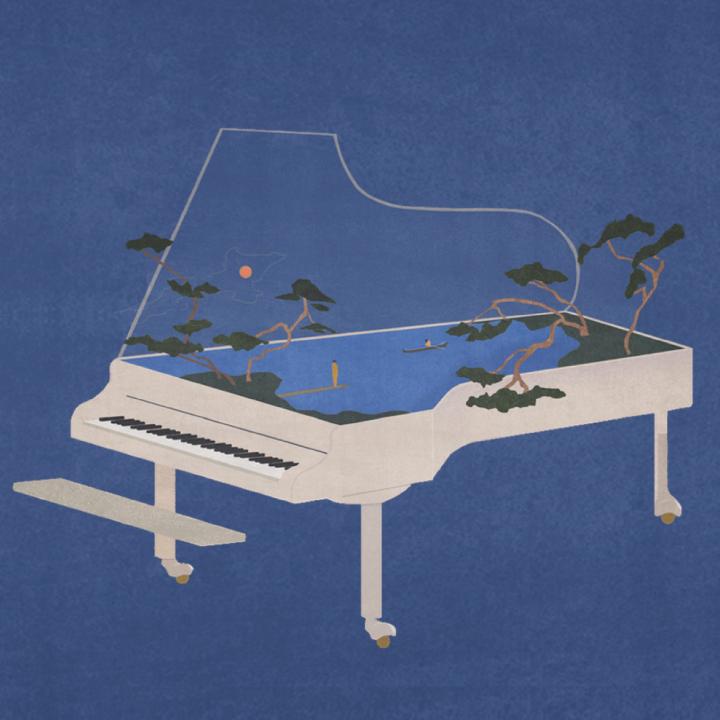 Armel Dupas Solo Piano Concert. Камерный концерт в музее