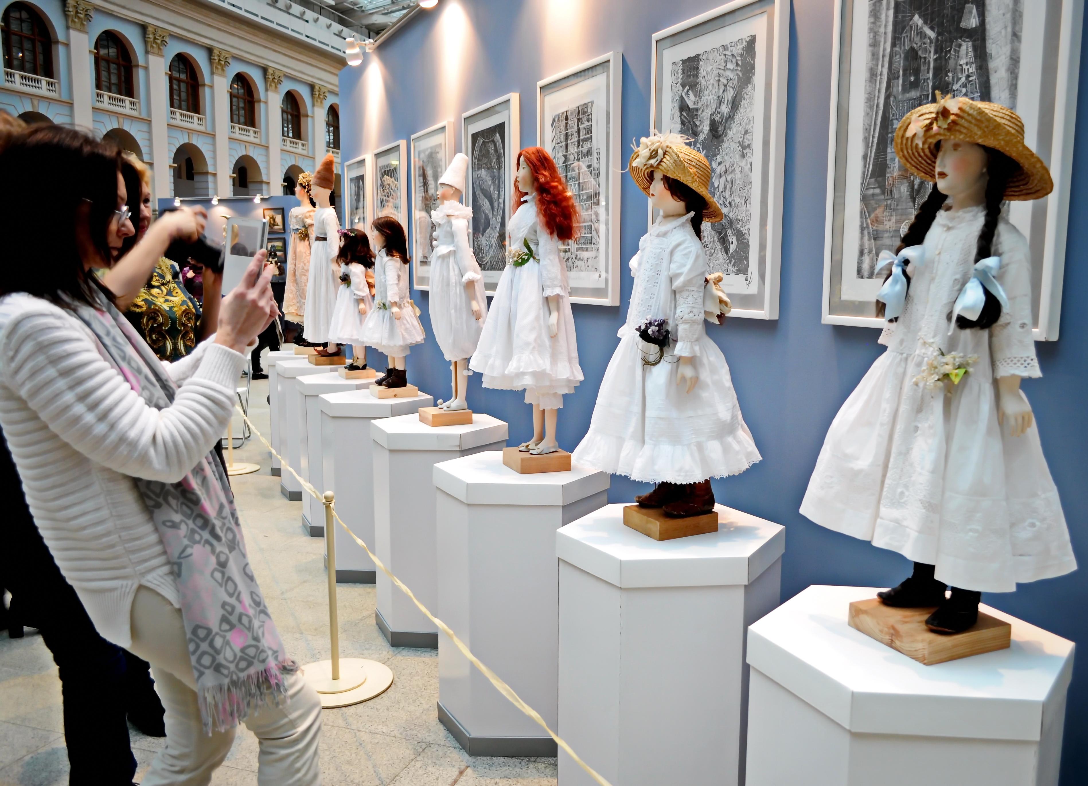 X Московская международная выставка  «Искусство куклы»