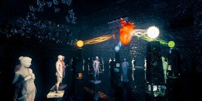 Иммерсивная выставка в виртуальном пространстве