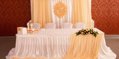 Дизайнерское оформление свадьбы от компании «Формула праздника» со скидкой до 50%