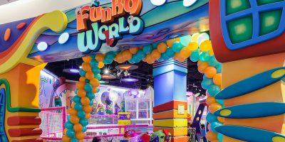 Скидка 50% на посещение детского парка развлечений Funky World