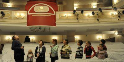 Экскурсия «Закулисье» в Театре «Et Cetera»