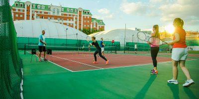 Занятия теннисом в спортивной школе Global tennis