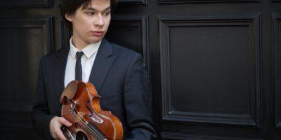 Концерт Айлена Притчина (скрипка), Андрея Гугнина (фортепиано)