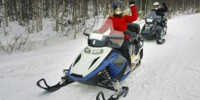 Катание на спортивных снегоходах от компании Kvadrmoto со скидкой до 65%