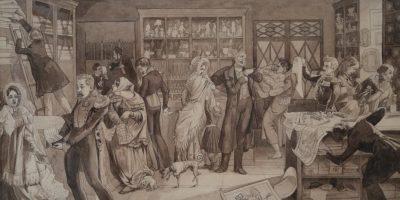 Выставка «Художник и время. Конец прекрасной эпохи. Рисунок первой половины XIX века»
