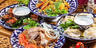 Скидка 40% на меню и напитки в ресторане «Марракеш»