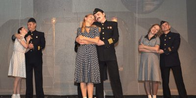 Спектакль «Я близко! Я рядом! Я здесь!» в постановке Театра Северного флота (Мурманск)