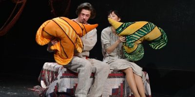 Скидка 50% на спектакль «Сказка о рыбаке и рыбке, или Семейные сцены, похожие на сказку»