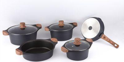Наборы посуды Royalty Line с мраморным покрытием в интернет-магазине Parovarovkitchen.ru со скидкой до 76%
