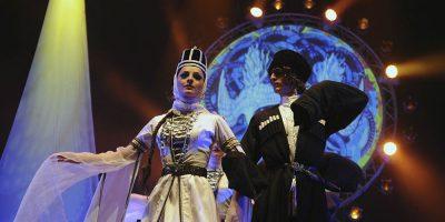 Национальное танцевальное шоу Georgian Legend