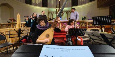 Концерт «Все кантаты Баха» в Кафедральном соборе святых Петра и Павла в Москве