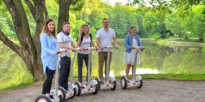 Прогулка на гироскутере в парках Москвы со скидкой до 51%