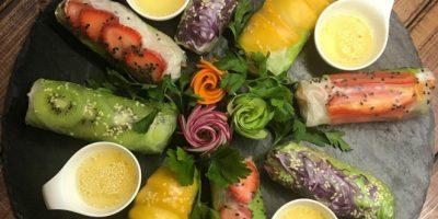 Скидка 50% на всё меню и напитки в ресторане вьетнамской кухни Zelen Eco Cafe