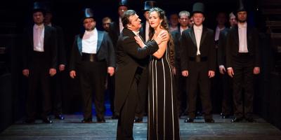 Опера «Аида» в Театре «Новая опера»