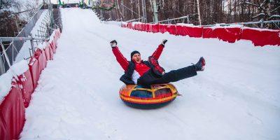 Спортивный праздник #Покорители горы в парке «Сокольники»
