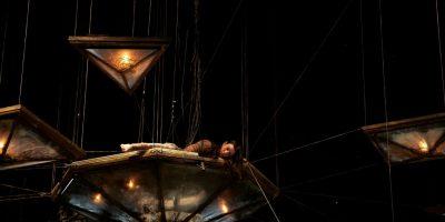 Спектакль «Лягушка была права» впостановке «Компании майского жука» (Франция)