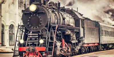Экскурсионная паровозная прогулка на ретропоезде