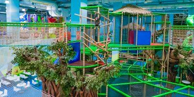 Скидка до 50% на билеты в детский лабиринт в парке активного отдыха «Весёлые джунгли»