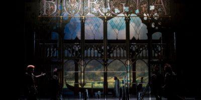Спектакль «Лукреция Борджиа» впостановке Театра «Комеди Франсез» (Париж, Франция)