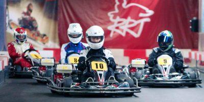 Картинг в клубе RRT-Kart