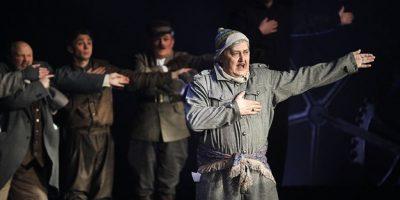 Спектакль «Дракон» в постановке Театра комедии имени Акимова в РАМТе