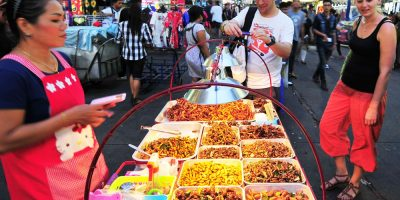 Фестиваль вьетнамской уличной еды