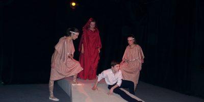 Спектакль «Антигона» в постановке Театра-студии имени А. С. Рудницкого